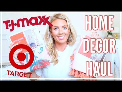 NEW HOUSE Home Decor Haul | TJMaxx & Target