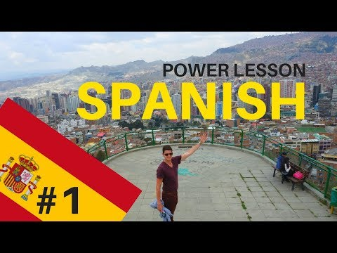 SPANISH from Scratch - Power Lesson #1 - LIVE