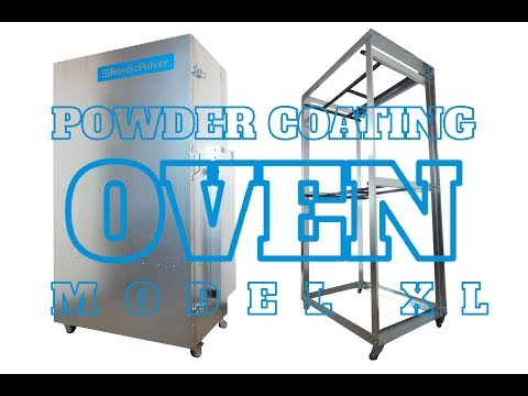 Powder Coating Oven NordicPulver Model XL / 230V 2,8kW 160x85x60cm / Paint Curing Oven