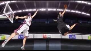 kuroko no Basket 2 Kagami in zone Vs Yosen
