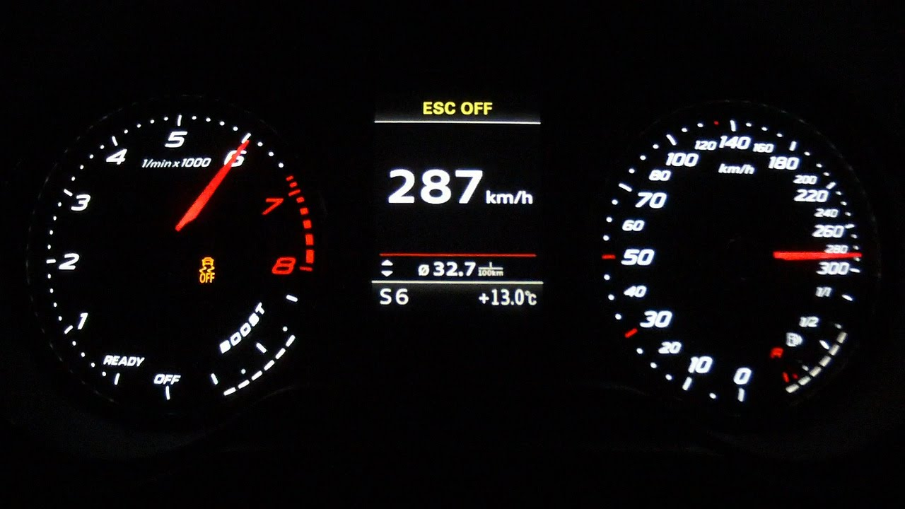 Audi Rs3 Sportback 2015 Acceleration 0 280 Km H Top
