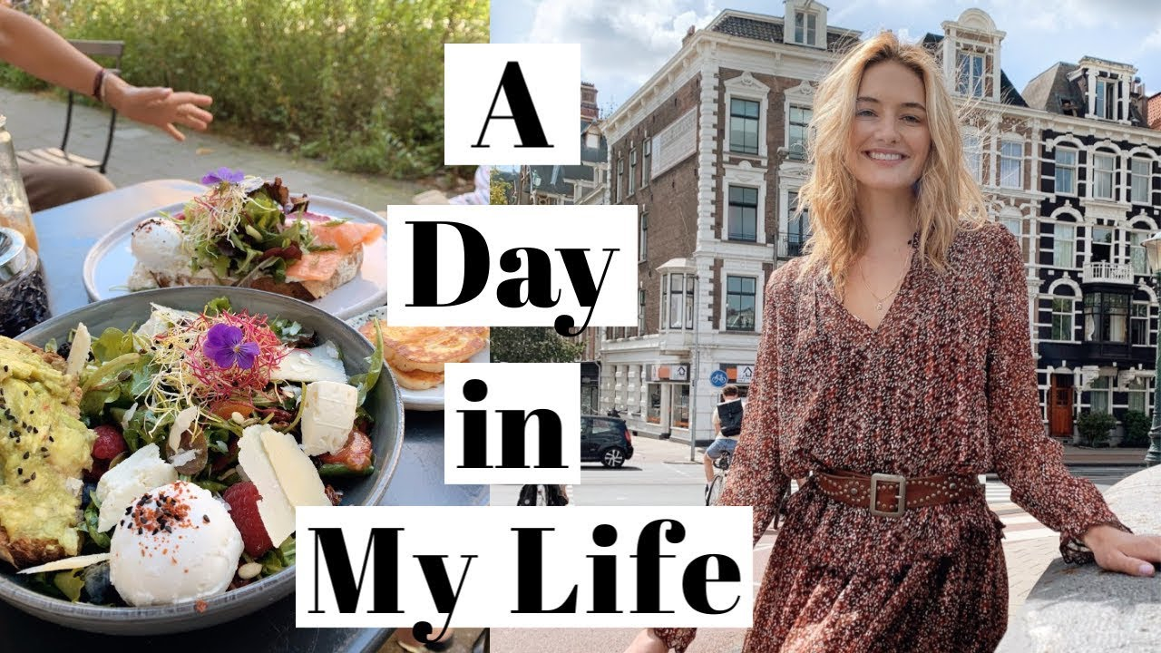 Day In My Life as a Model | Apartment Tour, Healthy Cooking, & European Summer | Sanne Vloet