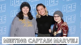 MEETING BRIE LARSON | ACE Comic Con Vlog (Chicago/Midwest 2019)