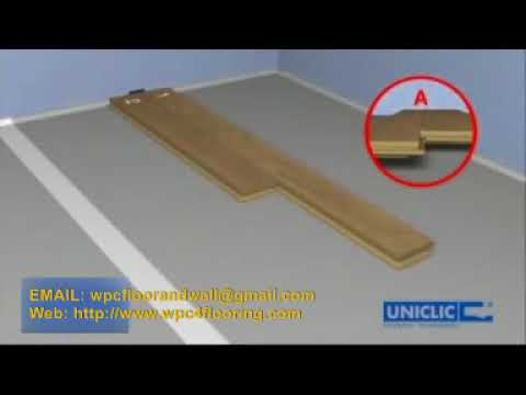 How to Install  WPC Flooring and LVT Flooring