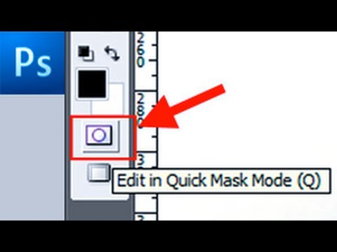 Photoshop Tutorial: Make Selection With The Quick Mask -HD-