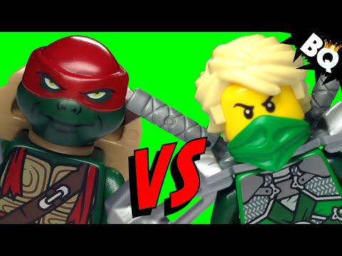 lego ninja turtles tmnt vs lego ninjago ninja battle