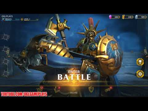 Warhammer Age Of Sigmar: Realm War (By Pixel Toys) Android IOS Gameplay