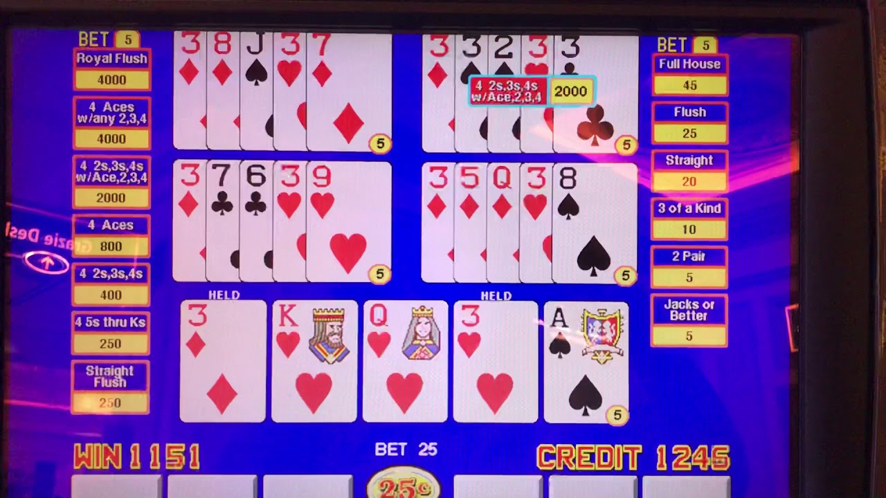 Triple Double Bonus Poker Free