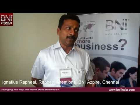 BNI Training Testimonial Ignatius Graphic Design