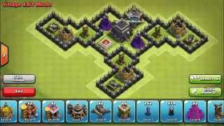 BEST Town Hall Level 8 Defense Strategy for Clash of Clans 4th mortar
