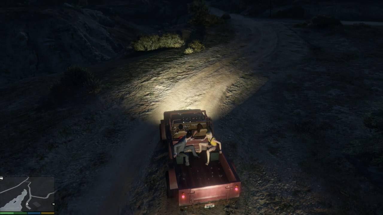 GTA 5 Phượt #2 - Đi Tìm Hồn Ma Bí Ẩn Trên Núi