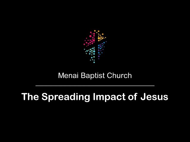 30-Aug-20 - The Spreading Impact of Jesus (Rev. Vivian Grice)