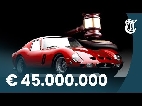 Een Ferrari van 45 miljoen dollar