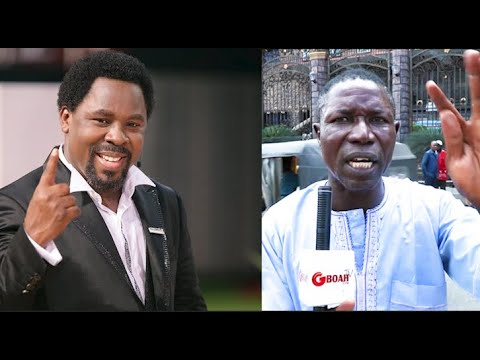 TB Joshua Will Still Wake Up, Yesterday He Told Us His Tired &Want To Rest: Says Usher of His Church