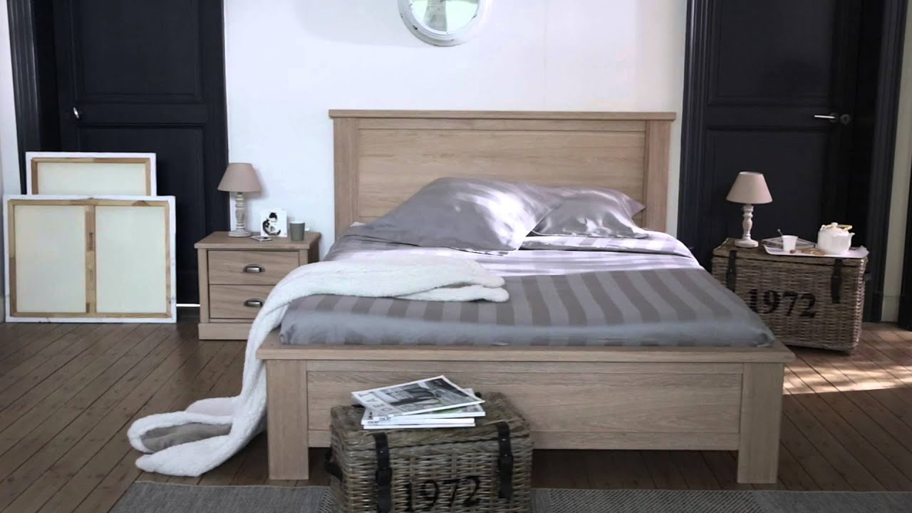 chambre authentique bois nouvelle collection but youtube. Black Bedroom Furniture Sets. Home Design Ideas