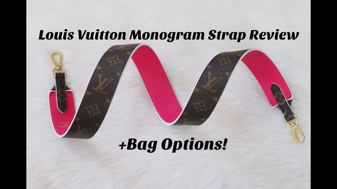 3f194725549de Louis Vuitton Monogram Strap Review + Bag Options - YouTube