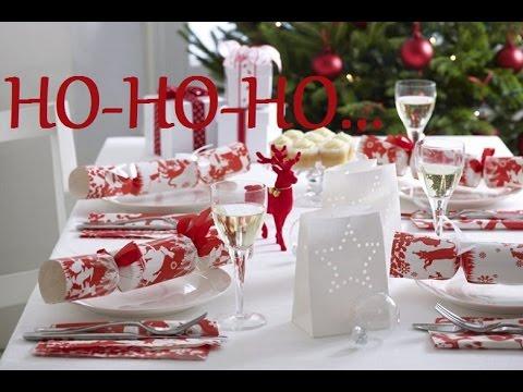 Charmant 100 Christmas Table Decoration Ideas Part1/100 Idées Décoration De Table De  Noël /bricoart.kam