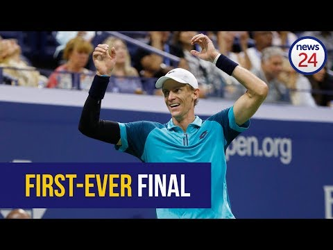WATCH: SA's Kevin Anderson reaches first-ever Grand Slam final