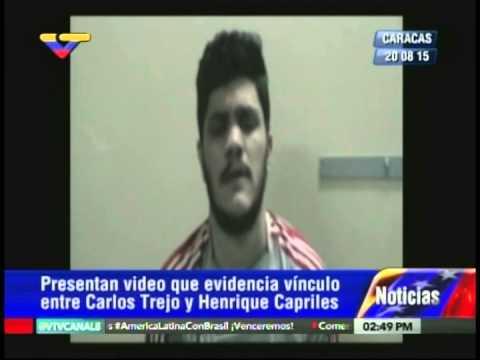 Carlos Trejo, autor asesinato Liana Hergueta, confiesa vínculos con Henrique Capriles