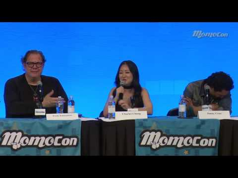 Charlet Chung (D.Va voice actress) being adorable