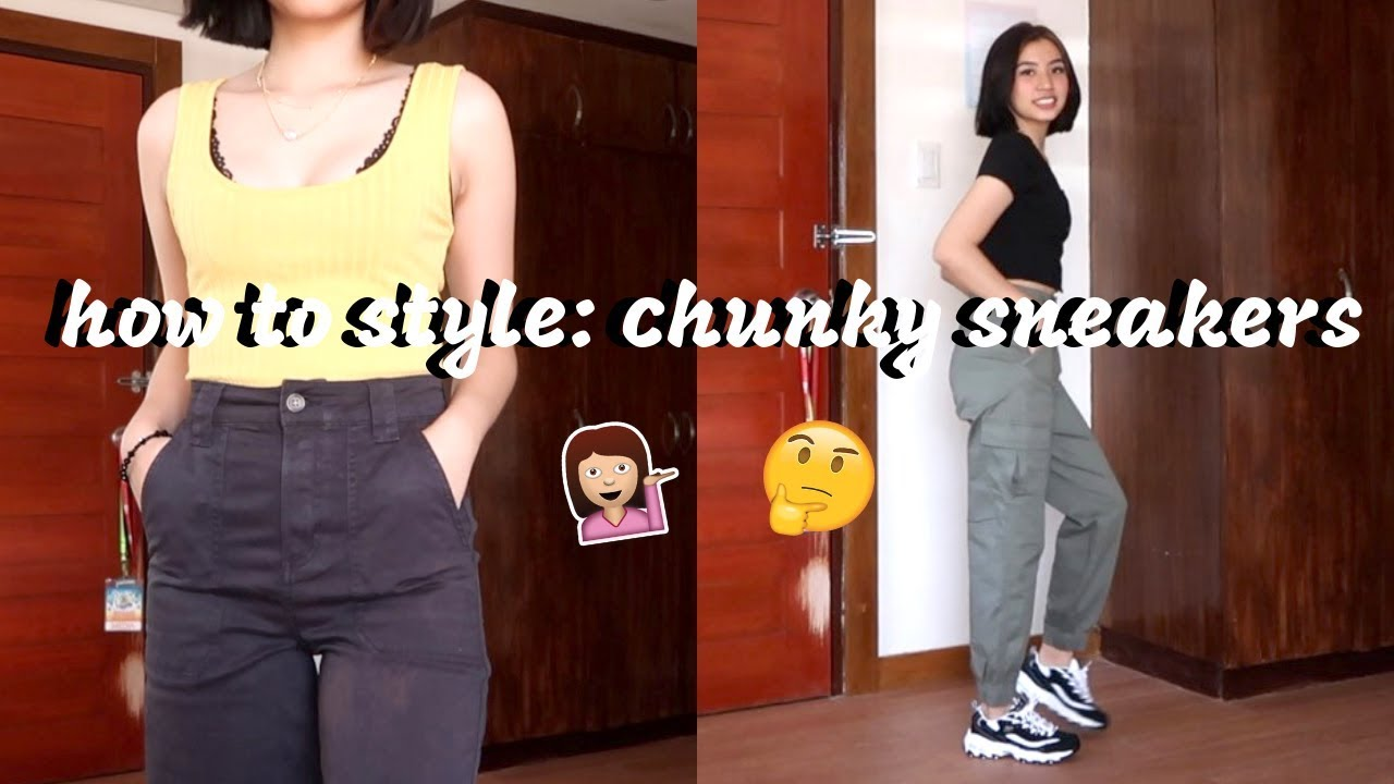 HOW TO STYLE TRENDY CHUNKY SNEAKERS (Philippines) | Ann V 5