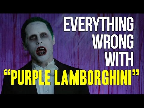 "Everything Wrong With Skrillex & Rick Ross - ""Purple Lamborghini"""