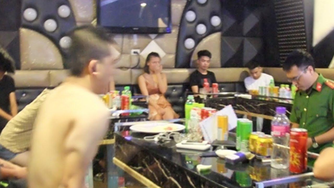 24 thanh niên tổ chức bay lắc trong quán karaoke