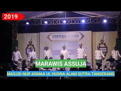 Marawis Assuja Festival Seni Religi Alam Sutra Masjid Nur Asmaa Ul Husna Tangerang 2019