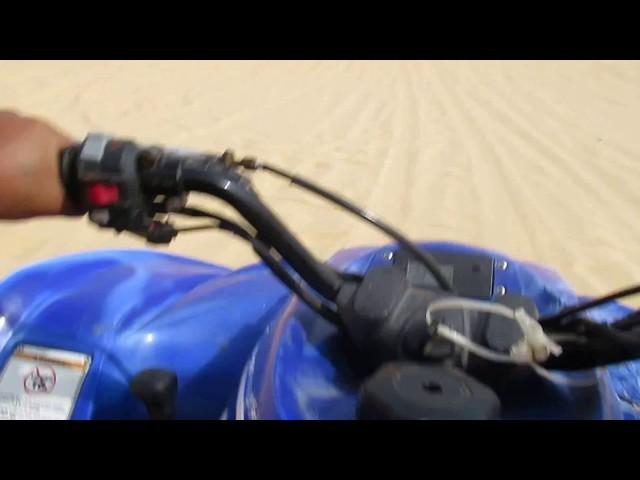 VIETNAM - Quad session in the white dunes, Mui Né