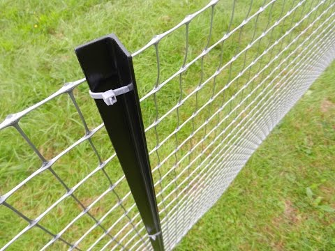 how-to-install-a-permanent-plastic-fence-tenax-millennium---tutorial