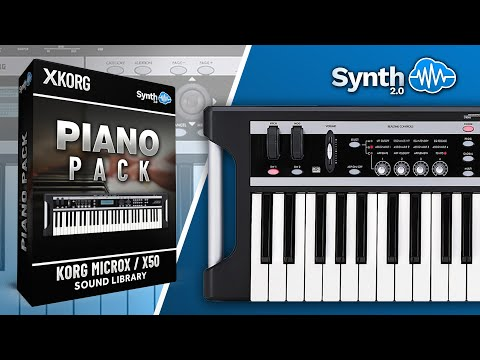 Sounds : LDX04 - Piano Pack - Korg MicroX