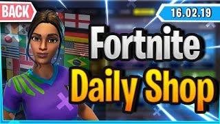 Fortnite Daily Shop *ENDLICH* FUSSBALL SKINS & RARE EMOTE (16 February 2019)