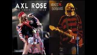 Kurt Cobain VS Axl Rose (LA VERDADERA PELEA)