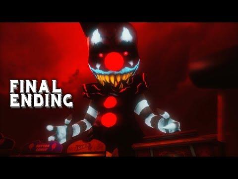 FINAL ENDING + BOSSES   Dark Deception Chapter 3 END