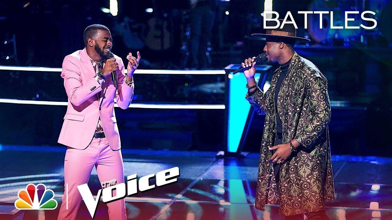 "Download The Voice 2018 Battle - Tyshawn Colquitt vs. Zaxai: ""Love Lies"""