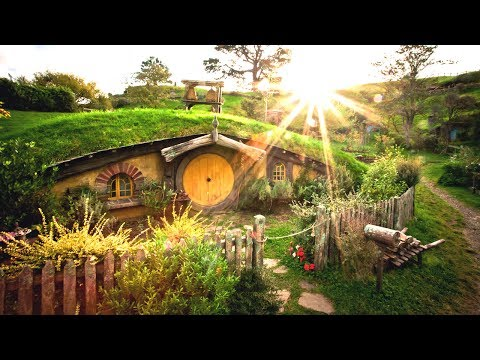 The Shire - A Brief Hobbiton Tour in Matamata New Zealand, LOTR The Hobbit