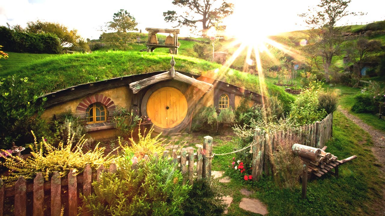 Image result for hobbit house new zealand