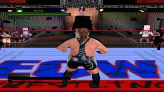 ECW Hardcore Revolution - Part 2 - Career Mode With Rob Van Dam (PS1)