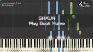 Shaun Way Back Home Piano Tutorial.mp3