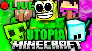 Minecraft UTOPIA LIVESTREAM!! (Osterspecial)