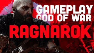GOD OF WAR RAGNAROK: PRIMER GAMEPLAY 4K descubre a KRATOS, ATREUS y THOR en el videojuego de PS4/PS5