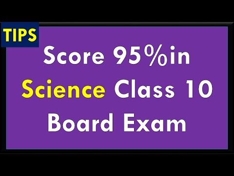 Score 95 Percent in Class 10 Science exam - Tips and Tricks