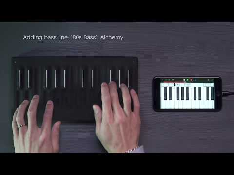 Seaboard Block and GarageBand: A perfect pairing for music making