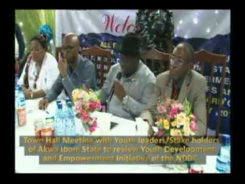 NDDC Town Hall meeting  (Akwa Ibom)