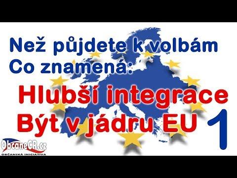 Evropská integrace 1.část