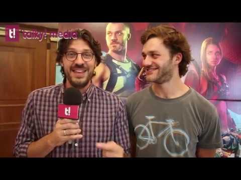 Ride, intervista Jacopo Rondinelli e Lorenzo Richelmy che scherza