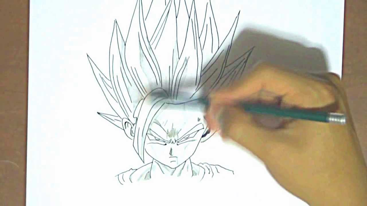 Dibujando a Gohan Dragon Ball Z  YouTube