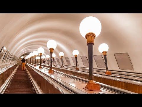 თბილისის მეტროს ესკალატორი.  Escalator of Metro Tbilisi.