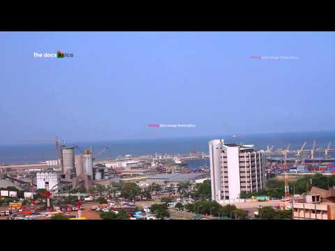 Tema harbor/Port City Accra Africa