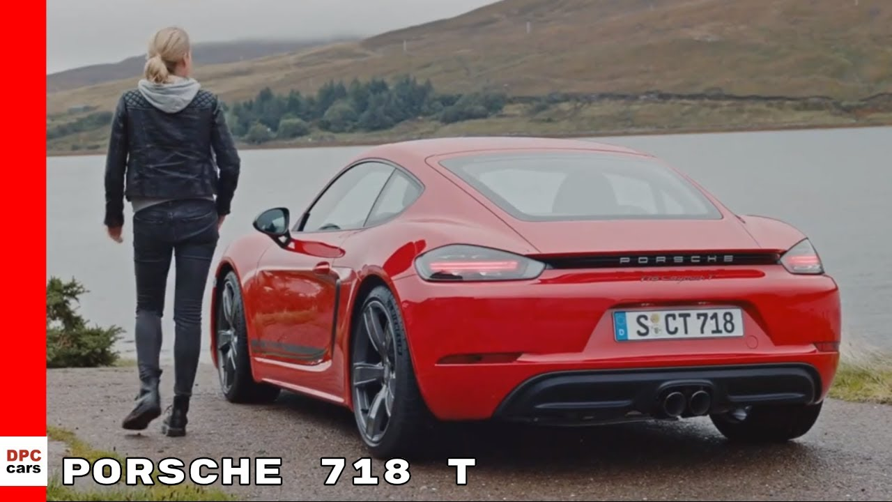2019 Porsche 718 T Boxster And Cayman Youtube